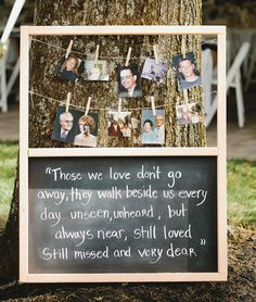Honour lost loved ones at your wedding with one of these 10 great ideas.