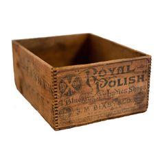 Antique Wooden Box Medium  $66.00