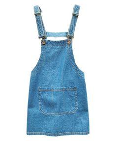 Denim Dress in Vintage Blue Wash
