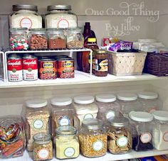 A Simple Pantry Makeover