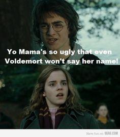 Burn! poor hermione