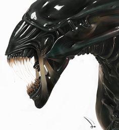 Alien Queen. by sk800720.deviantart.com on @deviantART