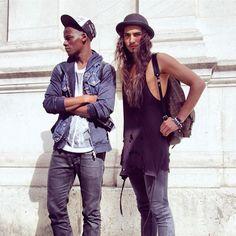 mannequinmode:  fabulouswillycartier:David Agbodji & Willy...