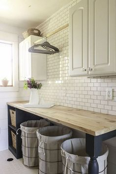 Do you want to create the best nice modern farmhouse laundry room ideas in your home? Charming and stylish laundry is indeed a choice and dreams for everyone. Then, how to create a good farmhouse laundry room design? Here is… Continue Reading → Laundry Room Remodel, Laundry Room Cabinets, Laundry Room Organization, Laundry Room Design, Diy Cabinets, Bathroom Cabinets, Laundry Storage, Laundry Room Counter, Bathroom Storage