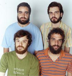 All bearded band: Los Hermanos (Brazil)