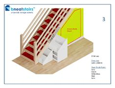 Muebles bajo escaleras Under Stairs Storage Systems - Under Stair Space Solutions from Bneatstairs B Diy Understairs Storage, Attic Storage, Storage Spaces, Space Under Stairs, Under Stairs Cupboard, Under Stairs Storage Solutions, Wine Pull, Staircase Storage, Clutter Organization