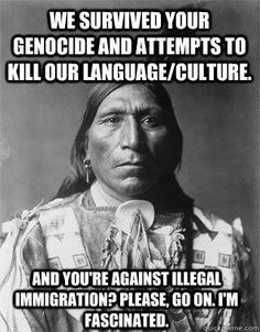 Native American Genocide.                                                                                                                                                     More
