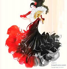 Dance To The Tune Of Flamenco With Espana Jewelry - Jewelsome Dance Paintings, Indian Paintings, Dancer Silhouette, Dancing Drawings, Spanish Dancer, Jazz Dance Costumes, Dance Art, Latin Dance, Dance Images