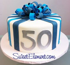 Google Image Result for http://www.cup-cakes.com/wp-content/uploads/2012/11/blue_stripe_50th_birthday_cake_with_bow.jpg