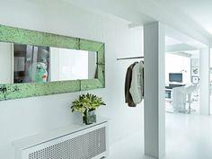 apartamento moderno Blanco Puro en un Apartamento Moderno