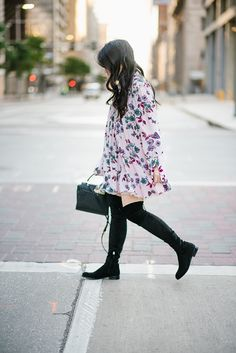 Tunics and black boots
