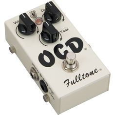 FulltoneOCD Obsessive Compulsive Drive Overdrive Guitar Effects Pedal