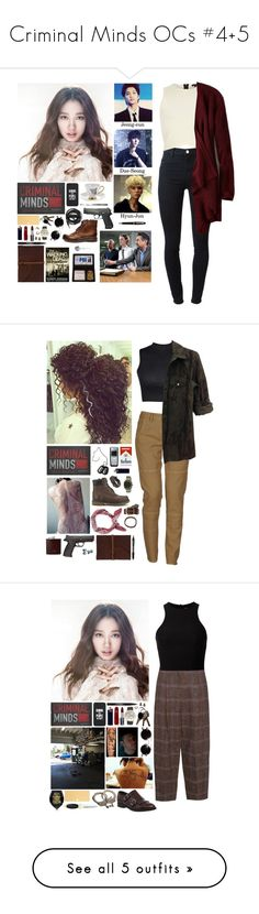 """""""Criminal Minds OCs #4+5"""" by mermer1324 ❤ liked on Polyvore featuring Trevco, Dogeared, Steve Madden, Geneva, VeraMeat, Victorinox Swiss Army, Melody Rose, Manic Panic NYC, Trish McEvoy and Louche"""