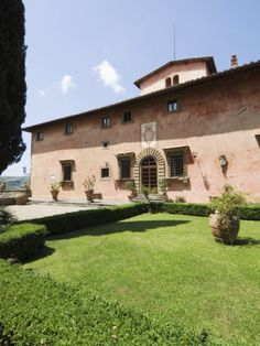 Villa Vignamaggio - Whose Wines Were the First to Be Called Chianti - Near Greve, Tuscany, Italy