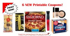 Be sure to print the 6 NEW Printable Coupons that were just released this morning! These are some great coupons with great savings!  Click the link below to get all of the details ► http://www.thecouponingcouple.com/6-new-printable-coupons-12-13-17/ #Coupons #Couponing #CouponCommunity  Visit us at http://www.thecouponingcouple.com for more great posts!