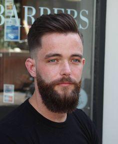 - Barber💈 Amsterdam - Hairstylist✂ - The Netherlands🔶 - Maluku (Aru) 🔵⚪💚🔴🔴🔴 - Djirlauw - Shalinie♡🍍🍓 - 👻 snpcht: rjdjirlauw Beard Head, Hipster Beard, Beard Lover, Comb Over, Beard Tattoo, Pompadour, Fade Haircut, Facial Hair, Short Hair Cuts