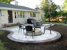 patio design concrete | Decorifusta Outdoor decor ideas, patio and garden design ideas