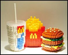 Mac Donald's - Lego (personal images are used in my audio e-books for children 3-7 and Illustrative Poetry, available at www.jamesagrove.ca)