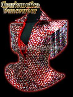 Charismatico Dancewear Store - RED Sequin DRAG QUEEN DIVA JACKET, $175.00 (http://www.charismatico-dancewear.com/products/RED-Sequin-DRAG-QUEEN-DIVA-JACKET.html)