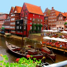 cafes Lüneburg, Germany a day trip with Girl Gone International