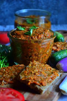 WEGAŃSKI PAPRYKARZ SZCZECIŃSKI Vegetarian Recipes, Cooking Recipes, Healthy Recipes, Vegan Sauces, I Love Food, Cooking Time, Healthy Choices, Dessert Recipes, Food And Drink