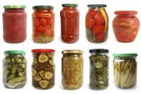 How to paint jar lids Healthy Recepies, Healthy Chicken Recipes, Healthy Foods To Eat, Antipasto, Chutney, Italian Recipes, New Recipes, Pickle Jars, Vegetable Nutrition