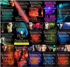 Love the Dark Hunter Series by Sherrilyn Kenyon!:) It's so nice to picture and imagine!:)