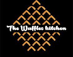 The Waffles Kitchen_ LOgo Design Pollo Y Waffles, Kitchen Logo, Bubble Waffle, Logo Branding, Logos, Print Design, Graphic Design, Logo Restaurant, Logo Design Inspiration
