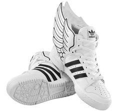 timeless design 474ff 49eaa 8-Bit Winged Kicks. Adidas Wing ShoesAdidas OriginalsThe OriginalsAdidas  Jeremy Scott ...