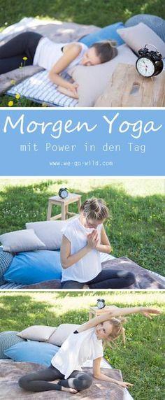 Die Morgen Yoga Übungen für Anfänger eignen sich wunderbar für einen guten Start in den Tag. Mit den sanften Yoga Übungen kann man leichter aufstehen. Auch als Yoga zum Einschlafen eignen sich die einfachen Yoga Übungen #Yoga #Übungen