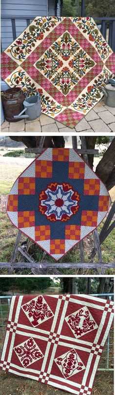 Quilts by Deirdre Bond-Abel of Hat Creek Quilts