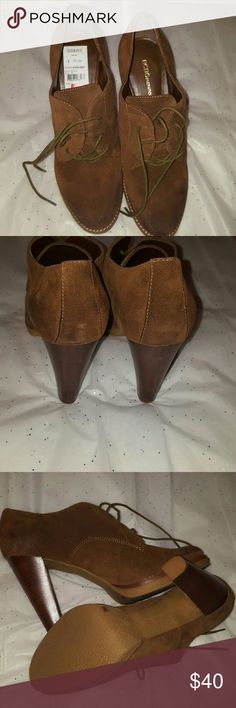 👢 Tan BCBG Booties size 11 brand new 👢 Tan BCBG Booties size 11 brand new. ALL REASONABLE OFFERS ACCEPTED! BCBGeneration Shoes Ankle Boots & Booties