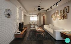 déco salon et salle à manger de style industriel