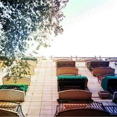 Toldos para una calle umbría #Madrid #DiegoDeLeon #amazing #art #artistic #bestphoto #colorfull #colors #cool #instaphoto #instapic #instashot #photo #photograph #photography #photooftheday #photos #photoshop #photoshot #photowall #picoftheday #perspective #perspectiva #building