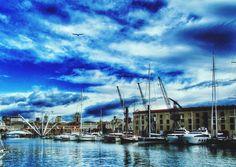 Porto Antico nel Genova, Liguria