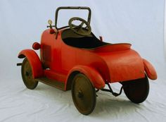 Fisher-Price metal car from the 1940's