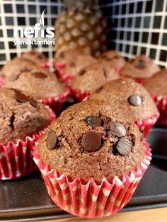 Damla Çikolatalı Muffin (Lezzeti Garanti) #damlaçikolatalımuffin #kektarifleri #nefisyemektarifleri #yemektarifleri #tarifsunum #lezzetlitarifler #lezzet #sunum #sunumönemlidir #tarif #yemek #food #yummy East Dessert Recipes, Healthy Dinner Recipes, Low Carb Recipes, Desserts, Pasta Recipes, Cake Recipes, Cap Cake, Time To Eat, Muffin