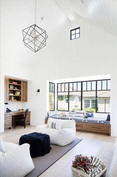 Today's New Urban Family Room Designs Meet Several Needs - Decorology