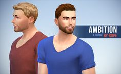 A sims on the other end. - Ambition haircut for The Sims 4 I'm not really ...