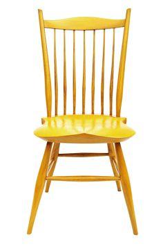 Mule Ear Side Chair by Jacob Tittle Chairmaker
