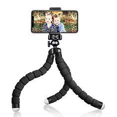 UBeesize Tripod S, Premium Flexible Phone Tripod with Wireless Remote, Mini Tripod Stand for Camera GoPro/Mobile (Upg...