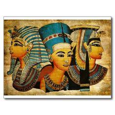 Altes Ägypten 3 Postkarten