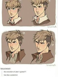 And with every evolution, Jean becomes an even more majestic stallion.<<< omg pinning for that