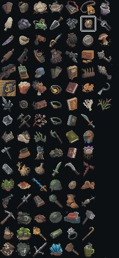 Witchmarsh Icons