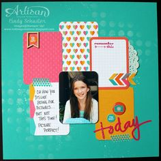 nutmeg creations: Project Life® by Stampin' UP!® Convention Samples by Cindy Schuster