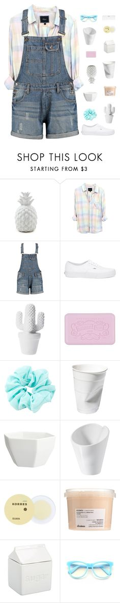 """""""Wolf In Sheep's Clothing"""" by gbaby707 ❤ liked on Polyvore featuring Rails, Boohoo, Vans, CB2, Revol, Korres, Davines, BIA Cordon Bleu, Wildfox and Conair"""