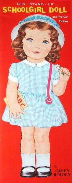 Schoolgirl Doll ~ Queen Holden
