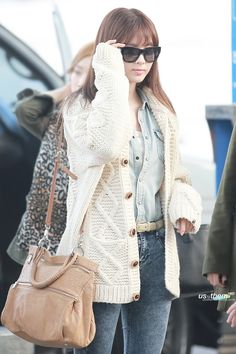 SNSD Seohyun : Airport Fashion Queens at Incheon Airport