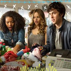 The search for Margo brought them all together. #PaperTowns ♡