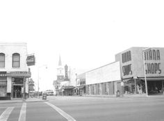 Florida Memory - View of College Avenue - Tallahassee, Florida 1958